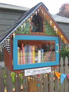 Little Free Library #1603 Reading is the KEY to Imagination  Corvallis, Oregon USA