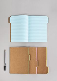 A simple set of notebooks that will really help you organise your ideas with simple index tabe on the covers and pages. Design by Moko for SUCK UK