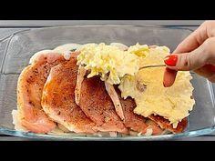 Manžel požádá o vaření tohoto masa každý den! Velmi chutné! - YouTube Carne, Main Dishes, Good Food, Tasty, Meat, Cooking, Breakfast, Ethnic Recipes, Youtube