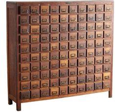 Rejuvenation Hardware Cabinet by Hobart Bros - Chest of Drawers - Furniture Industrial Furniture, Rustic Furniture, Antique Furniture, Modern Furniture, Outdoor Furniture, Antique Chairs, Industrial Style, White Furniture, Cool Furniture