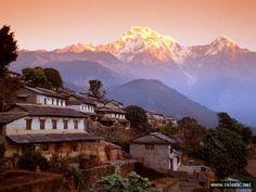Аннапурна Гималаи Непал