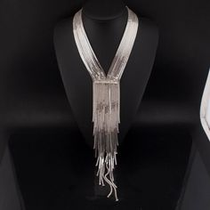 The Make An Entrance Tassel Collar Necklace - 3 Color Options