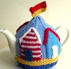 Beach Houses Tea Cosy Fits 4 cup teapot