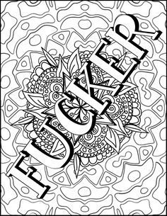 This Book Is Therapeutic! Coloring Books Coloring Books For Adults Coloring Books For Grown Ups coloring books swear words Mandala Books Art Therapy Adult Coloring Pages Skull Coloring Pages, Detailed Coloring Pages, Love Coloring Pages, Printable Adult Coloring Pages, Coloring Books, Swear Word Coloring Book, Coloring Pages Inspirational, Art Therapy, Scribble
