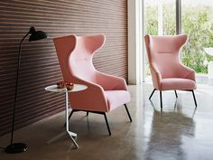 ADAL・ADAL ATIC Laurence wingback Lounge Chair