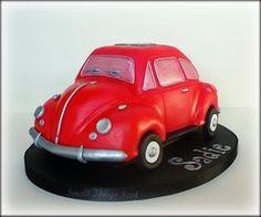 VW Beetle cake!