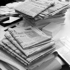Создание Giorgia в: Как подготовить папье-маше Daily News, Journalism, Wordpress, Internet, Marketing, Tv, Learning, Black, Amor