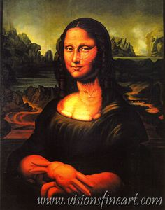♥ Octavio Ocampo - Mona Lisa's Chair