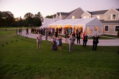 Cocktail Hour Under the Canopy http://www.gibbonsphoto.com/ #ManchesterCountryClub