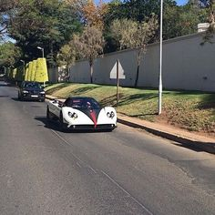 The mighty Pagani Zonda spotted in JHB yesterday by @alexkoutrou   #Zero2Turbo #Pagani #Zonda #ClubsportF #Roadster #ExoticSpotSA #SouthAfrica