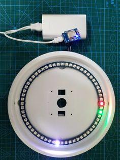 NeoPixel NTP Clock Using ESP8266