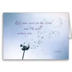 Religious Encouragement and Support, Dandelion Cards