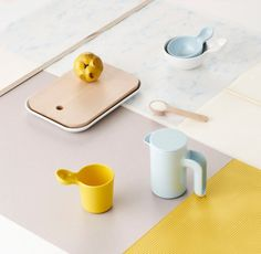 Kitchenware Collection is a minimalist design created by Denmark-based designer Ole Jensen for Room Copenhagen. The Ole Jensen for Room Copenhagen collection is a family of products for storage, cooking and serving. Cool Furniture, Furniture Design, Nordic Furniture, Copenhagen Design, Royal Copenhagen, Kitchenware, Tableware, Kitchen Must Haves, Little Kitchen