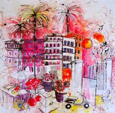 Peinture Couleur Cadmium, Par   Cécile Colombo