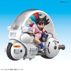 Mecha Colección Dragon Ball Scultures/'s cápsula NO.9 Motocicleta Vol.1 de Japón