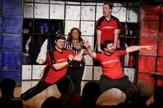 Comedy Sportz Chicago! We participated and won.
