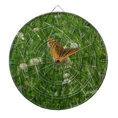 Great Spangled Fritillary Butterfly Dartboard