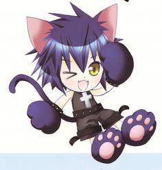 Day 15: Favorite animal sidekick. Yoru from Shugo Chara because he's funny and an adorable sidekick.