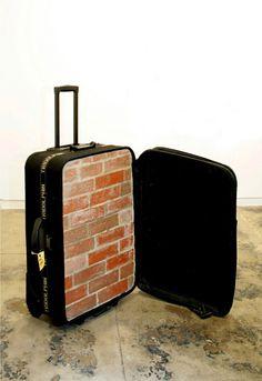 Yoan Capote,Nostalgia, (2004). Heavy Suitcase