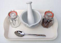 Coriander grinding activity for preschoolers. - spices - cooking activities - festival links KUW