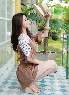 Korean Women`s Fashion Shopping Mall, Styleonme. Korean Beauty Girls, Korean Girl Fashion, Sexy Asian Girls, Beautiful Asian Girls, Asian Fashion, Asian Beauty, Women's Fashion, Cute Girl Dresses, Nice Dresses