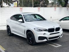 If you're looking for a short term lease, then get your hands on this BMW lease takeover while it's still around. Bmw X6 White, Red Interiors, Super Cars, Mineral, Coral, Cars, Minerals