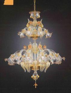 on wevux.it THE DESIGN BLOG-ITALIAN BUSINESS_GRANDI NOMI PER INTERNI: Luxury brand for interior design from Italy. Have look! LA murrina venezia lampadari luce light chandelier