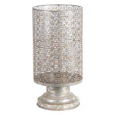 Privilege International Lattice Iron Candle Holder - 88503