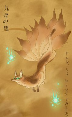 Kyubii-No-Kitsune by RaigaZero.deviantart.com on @deviantART