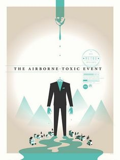 the airborne toxic event music gig posters