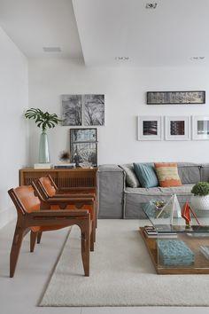 Apartamento no Leblon encontra sofisticação sem ostentação (Foto: Juliano Colodeti)