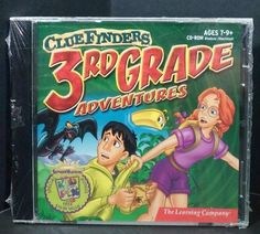Cluefinders 3rd Grade Adventures 2001 PC MAC CD-ROM Mystery Of Martha Learning