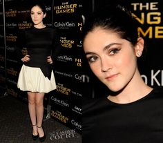 Isabelle Fuhrman in Valentino - Hunger Games NYC
