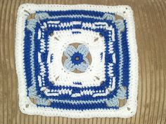 """Ravelry: Project Gallery for Field Day 9"""" and 12"""" Afghan Block pattern by Margaret MacInnis"""