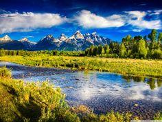 Beautiful Mountain Scenery HDR