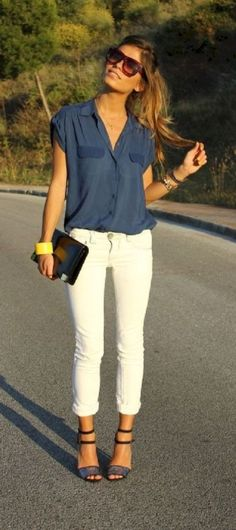 Casual summer work outfits ideas 2017 33