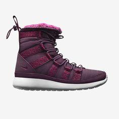 womens nike roshe run hi sneaker boot trainers warehouse