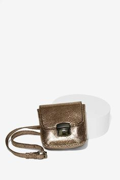 Nasty Gal x Nila Anthony Go Wild Belt Bag - Metallic - Accessories | Bags + Backpacks | Accessories