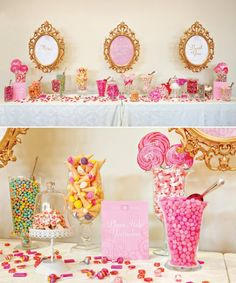 at the wedding show today this woman had a old like victorian candy cart. I though a good idea would be to have a table of sweets and bags for people to get their own. I also saw an icecream stand that was 189 for 50 servings which looks good.