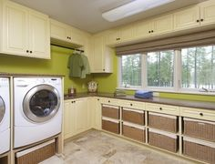 Why shouldn't a laundry room be fabulous?