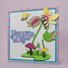 Birthday Card - Cricut Cartridge: Kate's ABCs