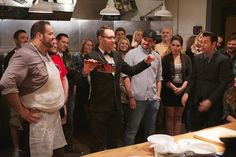 """What do chefs do after-hours? Why, have underground cooking competitions, of course. And Esquire Network's """"Knife Fight"""" is ready to bring them to TV."""