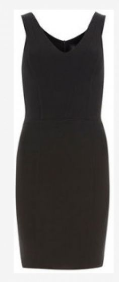 Kim wears a Kardashian Kollection black V Neck dress on Kourtney & Kim Take Miami