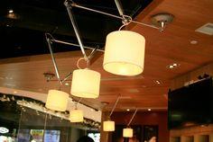 restaurant lighting ideas, restaurant lighting design - Find the best One Person Design Firm/ Freelance Interior Designers expertise in small space design at archiparti.co #lighting #lightingdesign #lightinginterior