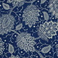 Chequit in Navy Blue Names, Robert Allen Fabric, Shades Of Blue, Indigo, Paisley, Aqua, Fabrics, Textiles, Cottage