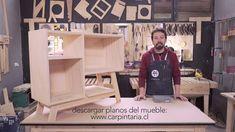Aparador construido con herramientas kreg (planos en www.carpintaria.cl proyectos)