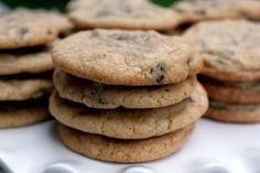 Chocolate Chip Cookie Recipe on Yummly. Desserts To Make, Homemade Desserts, Comfort Food List, Comfort Foods, Chocolate Desserts, Chocolate Chip Cookies, Nestle Toll House Recipe, Cookie Recipes, Dessert Recipes