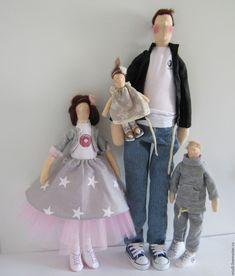 """Куклы Тильды ручной работы. Заказать Тильда """"Папа может!"""". Alena. Ярмарка Мастеров. Тильда ангел, тильда стиль"""