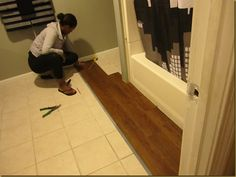 For Finishing Off Vinyl Plank Flooring Especially Against