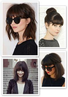 I want half moon bangs so bad ! I want half moon bangs so bad ! Hairstyles With Bangs, Pretty Hairstyles, Full Fringe Hairstyles, Fringe Haircut, Latest Hairstyles, Half Moon Bangs, Medium Hair Styles, Short Hair Styles, Grunge Hair
